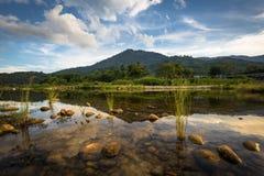 Όμορφο φυσικό τοπίο της Ταϊλάνδης φύσης στοκ φωτογραφίες