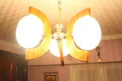 Όμορφο φως ένωσης στεγών για την εσωτερική εγχώρια διακόσμηση Στοκ φωτογραφία με δικαίωμα ελεύθερης χρήσης