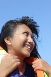 όμορφο χαμόγελο κοριτσιών Στοκ εικόνες με δικαίωμα ελεύθερης χρήσης