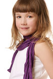 όμορφο χαμόγελο κοριτσι Στοκ Εικόνες