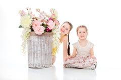 Όμορφο χαμόγελο μικρών κοριτσιών Στοκ φωτογραφίες με δικαίωμα ελεύθερης χρήσης
