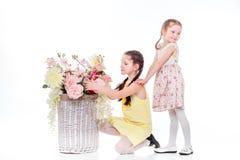 Όμορφο χαμόγελο μικρών κοριτσιών Στοκ Φωτογραφίες