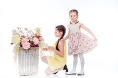 Όμορφο χαμόγελο μικρών κοριτσιών Στοκ φωτογραφία με δικαίωμα ελεύθερης χρήσης
