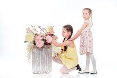 Όμορφο χαμόγελο μικρών κοριτσιών Στοκ Φωτογραφία
