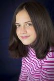 όμορφο χαμόγελο πορτρέτου κοριτσιών εφηβικό Στοκ φωτογραφίες με δικαίωμα ελεύθερης χρήσης