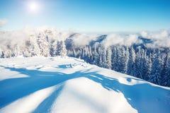 Όμορφο χειμερινό τοπίο Στοκ φωτογραφίες με δικαίωμα ελεύθερης χρήσης