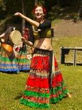 Όμορφο χορεύοντας κορίτσι Στοκ φωτογραφία με δικαίωμα ελεύθερης χρήσης