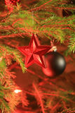 Όμορφο χριστουγεννιάτικο δέντρο Στοκ Φωτογραφία