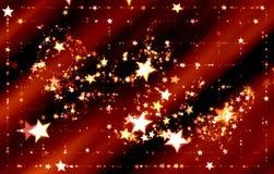 όμορφο χρυσό διάνυσμα αστεριών απεικόνισης ανασκόπησης Κίτρινο λαμπρό γραφικό σκηνικό χρυσή πτώση κομφετί σπινθηρισμάτων Το μαγικ Στοκ Φωτογραφία