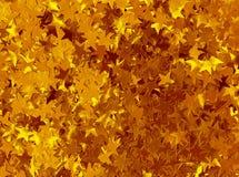 όμορφο χρυσό διάνυσμα αστεριών απεικόνισης ανασκόπησης Στοκ Εικόνες