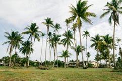 Όμορφο χωριό ψαράδων τοπίου που βρίσκεται σε Terengganu, της Μαλαισίας Στοκ Εικόνα