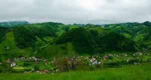όμορφο χωριό στοκ εικόνα