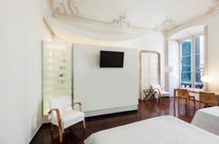 Όμορφο δωμάτιο ξενοδοχείου Στοκ φωτογραφίες με δικαίωμα ελεύθερης χρήσης