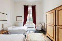 Όμορφο δωμάτιο ξενοδοχείου Στοκ Εικόνα