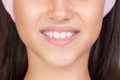 όμορφο όμορφο χαμόγελο κ&omi Στοκ εικόνα με δικαίωμα ελεύθερης χρήσης