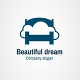 Όμορφο όνειρο λογότυπων Στοκ εικόνες με δικαίωμα ελεύθερης χρήσης