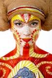 όμορφο δημιουργικό κορίτ&s Στοκ Εικόνες