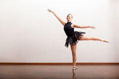 Όμορφο ballerina σε ένα tutu Στοκ Φωτογραφίες