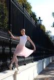 Όμορφο ballerina στην οδό Στοκ Φωτογραφία