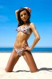 όμορφο bikini κορίτσι Στοκ Φωτογραφία