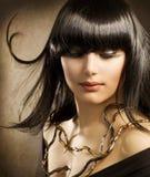 όμορφο brunette Στοκ Εικόνες