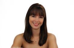 όμορφο brunette 2 headshot Στοκ φωτογραφία με δικαίωμα ελεύθερης χρήσης