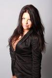 Όμορφο brunette Στοκ εικόνες με δικαίωμα ελεύθερης χρήσης