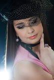όμορφο brunette Στοκ φωτογραφία με δικαίωμα ελεύθερης χρήσης