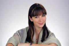 όμορφο brunette 4 headshot Στοκ φωτογραφία με δικαίωμα ελεύθερης χρήσης