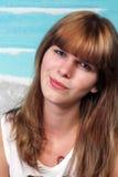 Όμορφο Brunette, Headshot Στοκ εικόνα με δικαίωμα ελεύθερης χρήσης