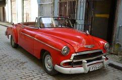 Όμορφο Chevrolet στην παλαιά Αβάνα Στοκ Φωτογραφία