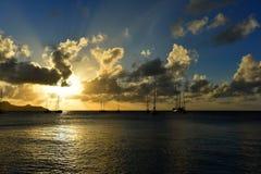 όμορφο cloudscape πέρα από τη θάλασσα Στοκ φωτογραφία με δικαίωμα ελεύθερης χρήσης