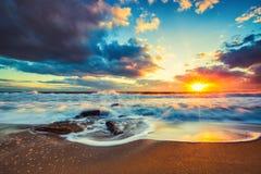 όμορφο cloudscape πέρα από τη θάλασσα Στοκ φωτογραφίες με δικαίωμα ελεύθερης χρήσης