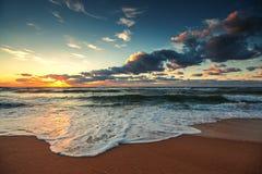 όμορφο cloudscape πέρα από τη θάλασσα Στοκ εικόνες με δικαίωμα ελεύθερης χρήσης