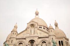 Όμορφο coeur Παρίσι sacre montmartre στοκ φωτογραφία