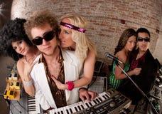 Όμορφο DJs Στοκ φωτογραφία με δικαίωμα ελεύθερης χρήσης