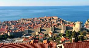Όμορφο Dubrovnik, μεσογειακή πόλη της Κροατίας Στοκ φωτογραφία με δικαίωμα ελεύθερης χρήσης