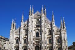 όμορφο duomo Ιταλία Μιλάνο Στοκ Εικόνα