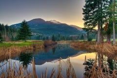 όμορφο dusk στοκ εικόνες με δικαίωμα ελεύθερης χρήσης