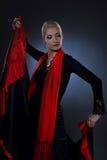 όμορφο flamenco χορευτών Στοκ Φωτογραφίες