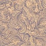 όμορφο floral άνευ ραφής διάνυσμα απεικόνισης Στοκ εικόνα με δικαίωμα ελεύθερης χρήσης