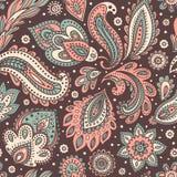 όμορφο floral άνευ ραφής διάνυσμα απεικόνισης Στοκ φωτογραφίες με δικαίωμα ελεύθερης χρήσης