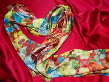 όμορφο floral διάνυσμα απεικόνισης καρδιών Στοκ Εικόνες