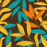 όμορφο floral πρότυπο άνευ ραφής ελεύθερη απεικόνιση δικαιώματος
