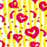 Όμορφο floral υπόβαθρο άνοιξη με τις τουλίπες Στοκ φωτογραφία με δικαίωμα ελεύθερης χρήσης