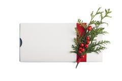 Όμορφο giftcard Στοκ Φωτογραφίες