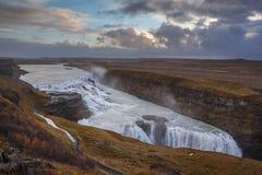 Όμορφο Gullfoss Στοκ Φωτογραφία