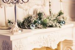 Όμορφο holdiay διακοσμημένο δωμάτιο Χριστουγέννων Στοκ φωτογραφίες με δικαίωμα ελεύθερης χρήσης