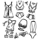 όμορφο lingerie Στοκ Εικόνες