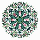 Όμορφο mandala, φυλετική εθνική διακόσμηση επίσης corel σύρετε το διάνυσμα απεικόνισης Στοκ Φωτογραφίες
